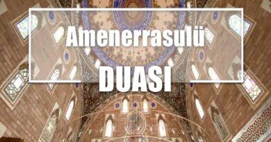 Amenerrasulü Duası | Doğru Türkçe Okunuşu, Meali ve Arapçası